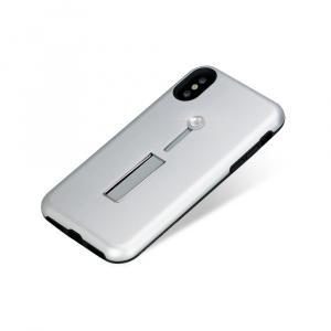 Zadní kryt Bling My Thing Selfie Loop Silver Crystal pro Apple iPhone X/XS, krystaly Swarovski®