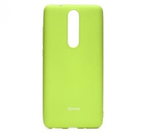 Kryt ochranný Roar Colorful Jelly pro Nokia 5.1, limetková