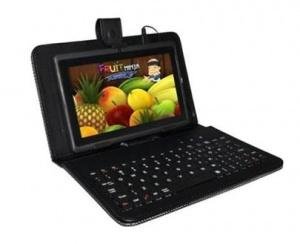 """Pouzdro Aligator s klávesnicí pro tablet 7"""", konektor microUSB, černá"""