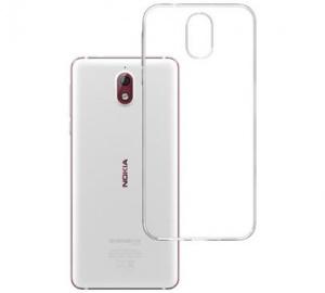 Kryt ochranný 3mk Clear Case pro Nokia 3.1, čirý