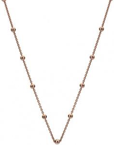 Růžově pozlacený stříbrný řetízek Emozioni CH051