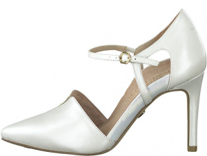 Dámské lodičky 1-1-24403-24-101 White Pearl