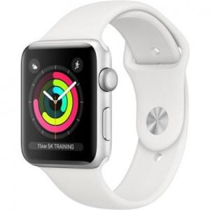 Hodinky Apple Watch Series 3 38mm Silver Aluminium - White Sport pásek 2017