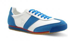 Botas CLASSIC bílo-modrá 46