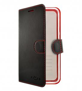 Pouzdro typu kniha FIXED FIT pro Apple iPhone 11, černé