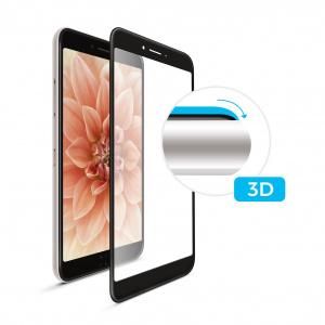 Ochranné tvrzené sklo FIXED 3D Full-Cover pro Apple iPhone XR, s lepením přes celý displej, černé
