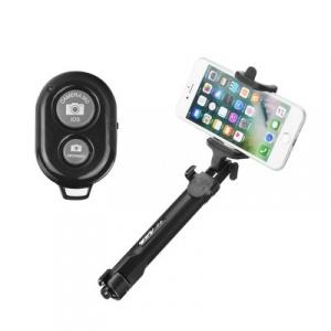 Selfie držák Tripod Universal - 3,5mm jack, barva černá