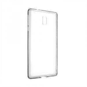 Ultratenké TPU gelové pouzdro FIXED Skin pro Nokia 3, 0,6 mm, čiré