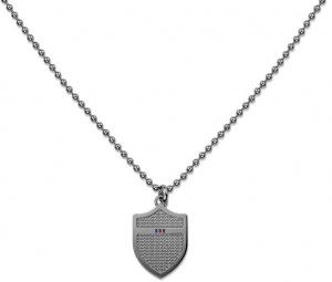 Šedý náhrdelník se štítem TH2700896