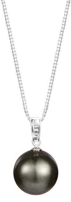 Stříbrný náhrdelník s pravou mořskou tahitskou perlou JL0567 (řetízek, přívěsek)