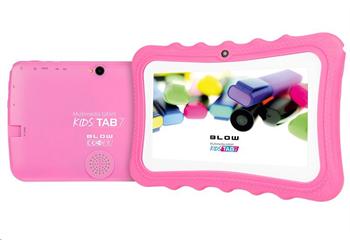 BLOW tablet KidsTAB7 7'' 8 GB, Android 9.0, Quad-Core, růžový