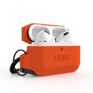 UAG Silicone case, orange/black - AirPods Pro