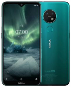 Nokia 7.2 2019 DS Green (dualSIM) 128GB/ 6GB Android 9.0