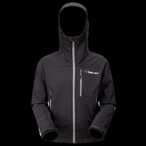 Trekmates Softshell Hooded Jacket Bunda černá L