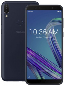 "ASUS Zenfone MAX Pro (ZB602KL-4A083EU) Black-Blue - 6,0"", 8x 1,8GHz, 64GB/4GB, Android 8.1"
