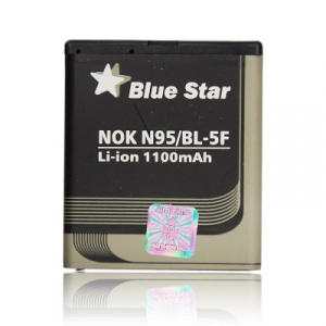Baterie BlueStar Nokia N95, N96, E65 (BL-5F) 1100mAh Li-ion