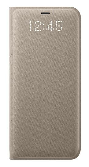 Samsung LED flipové pouzdro EF-NG955PFE pro Galaxy S8+ Gold