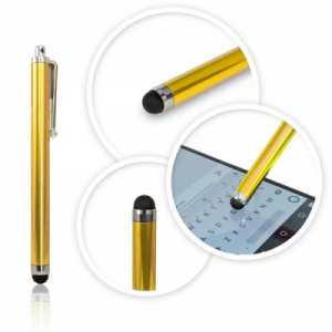 Dotykové pero (stylus) kapacitní PERO barva zlatá