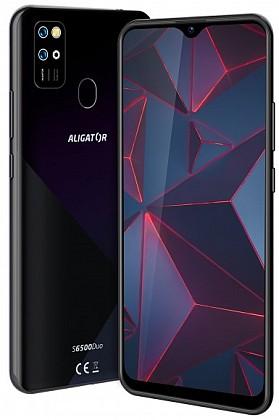 Aligátor S6500 Duo Crystal Black (dualSIM) 32GB/2GB