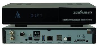 ZGEMMA H7S Triple Tuner 4k UHD CA CI 2xDVB-S2X,  1x DVB-T2/C
