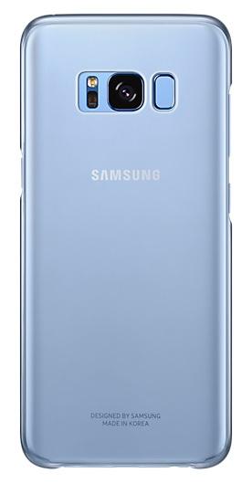 Samsung zadní kryt Clear Cover EF-QG955CLE pro Galaxy S8+ Blue