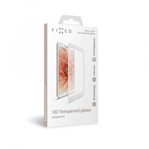 Ochranné tvrzené sklo FIXED 3D Full-Cover pro Apple iPhone 7/8, s lepením přes celý displej, bílé, 0.33 mm