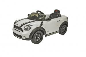 Run Run Toys elektrické autíčko Mini Countryman White 12V R/C