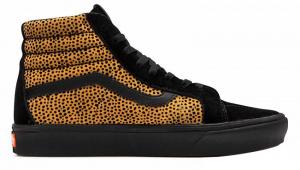 Dámské kotníkové tenisky UA ComfyCush SK8-Hi Reissue Tiny Cheetah Black VN0A3WMCVWS1
