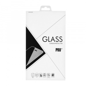 Tvrzené sklo 3D FULL GLUE iPhone XS MAX (6,5) bílá