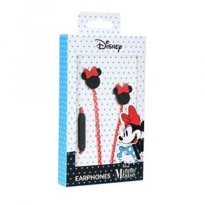 Hands Free Disney Minnie mouse 3,5 mm jack, barva černá/červená