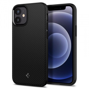 Spigen MagArmor, black - iPhone 12 mini