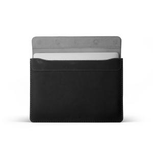 """Kožené pouzdro FIXED Oxford pro Apple MacBook Air 13"""" Retina (od roku 2018), černé"""