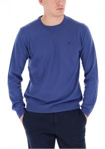Pánský svetr Round Neck 52M00257-U290 Navy Blue