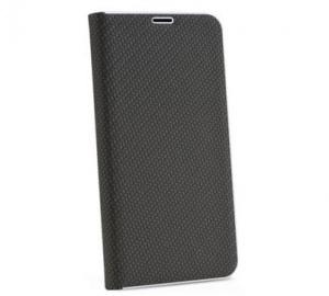 Pouzdro Forcell Luna Carbon pro Huawei Y5 2019, Honor 8S, černá