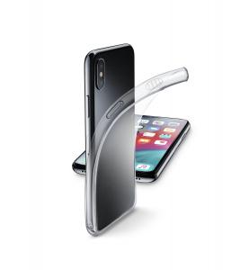 Extratenký zadní kryt CellularLine Fine pro Apple iPhone XS Max, transparentní