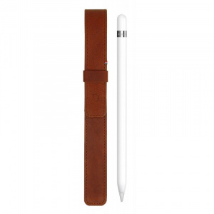Decoded Leather Sleeve, brown - Apple Pencil 1, 2