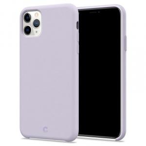 Spigen Ciel Silicone, lavender - iPhone 11 Pro Max