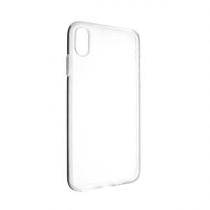 Ultratenké TPU gelové pouzdro FIXED Skin pro Apple iPhone XS Max, 0,6 mm, čiré
