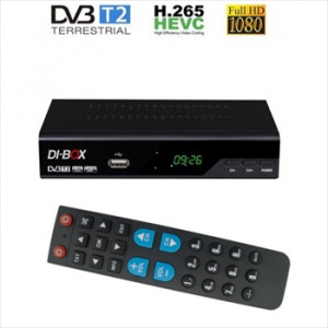 SET TOP BOX PRO HOTEL DVB-T2 DI-BOX V3 H.265