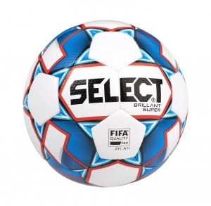 Select Fotbalový míč FB Brillant Super bílo modrá 5