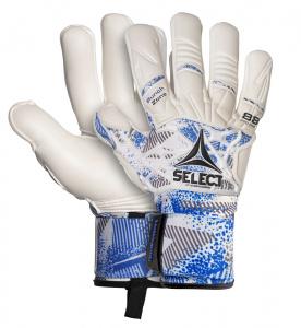 Select Brankářské rukavice GK gloves 88 Pro Grip Negative cut bílo modrá 7