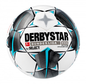 Select DERBYSTAR Bundesliga Brillant APS Official Match Ball bílo černá