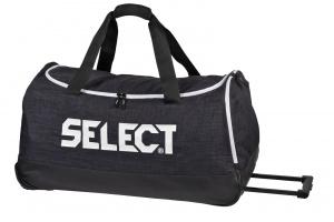 Select Sportovní taška Teambag Lazio w/wheels černá 105 l
