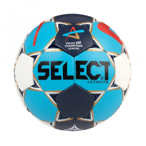 Select Házenkářský míč HB Ultimate Champions League Men bílo modrá 2