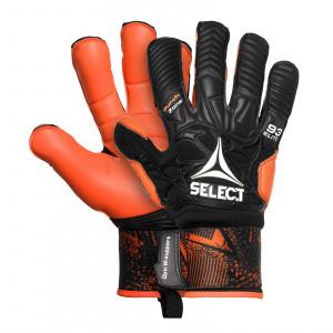 Select Brankářské rukavice GK gloves 93 Elite Hyla cut černo oranžová 8