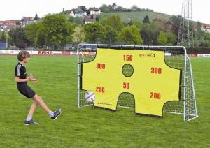 Fotbalová branka SPARTAN s terčovou plachtou 290 x 165 x 90 cm