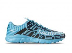 Salming Speed 8 Shoe Women Blue/Petrol, 8 UK - 42 EUR - 27 cm