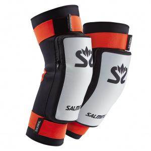 Salming E-Series Kneepads White/Orange, L