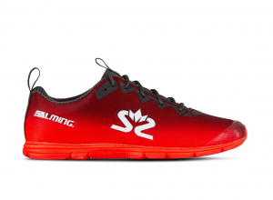 Salming Race 7 Women Forged iron/Poppy Red, 7,5 UK - 41 1/3 EUR - 26,5 cm
