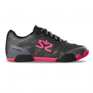 Salming Hawk Shoe Women GunMetal/Pink, 3,5 UK - 36 EUR - 22,5 cm